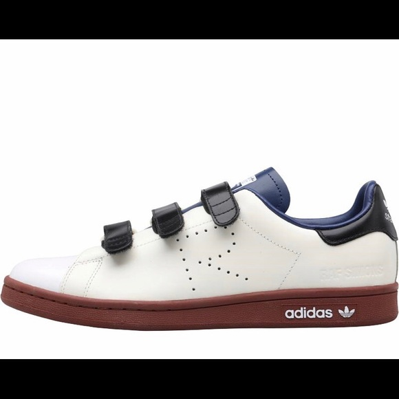 quality design bbb53 ccb14 NWT Adidas X Raf Simons Leather Stan Smith Velcro NWT